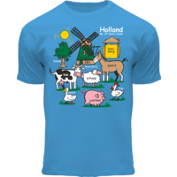 FOX Originals Kinder T-Shirt - Holland - Blauw