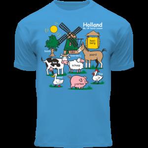 Holland fashion Children's T-Shirt - Holland - Blue