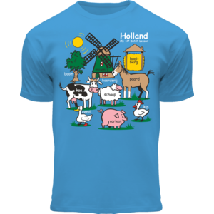 Holland fashion Kinder T-Shirt - Holland - Blauw