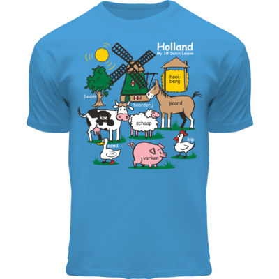FOX Originals Kinder T-Shirt - Holland - Blau