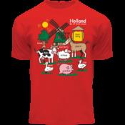 FOX Originals Kinder T-Shirt - Holland - Rot