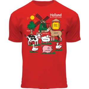 FOX Originals Kids T-Shirt - Holland - Red