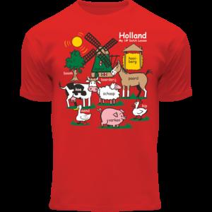 Holland fashion Kids T-Shirt - Holland - Red