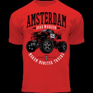 Holland fashion Kids T-Shirt - Amsterdam Road Warrior