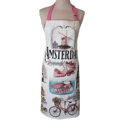 Memoriez Luxury kitchen apron - Vintage - Amsterdam