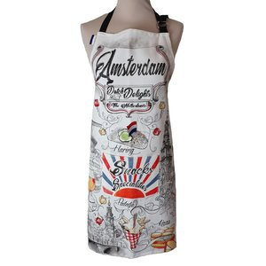 Memoriez Luxury kitchen apron - Vintage - Dutch delights