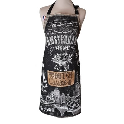 Memoriez Luxury kitchen apron - Chalkboard - Dutch Cuisine
