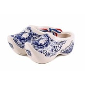 Typisch Hollands Delft blue Clogs on ribbon 7 cm