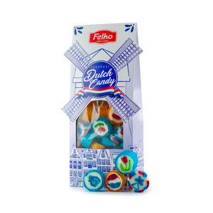 Felko Dutch Candy - Windmill packaging (Delft)