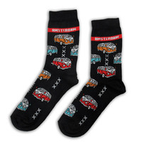 Holland sokken Dames sokken - Amsterdam - VW Bussen