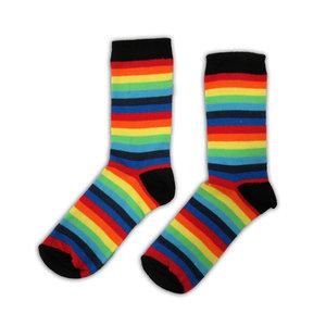 Typisch Hollands Regenboog - Gay Pride - dames-sokken.