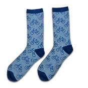 Holland sokken Herrensocken - Radfahren - blau (Größe 41-46)