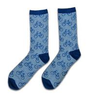 Holland sokken Heren-sokken - Fietsen - blauw (maat 41-46)