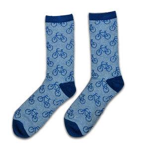 Robin Ruth Fashion Heren-sokken - Fietsen - blauw (maat 41-46)