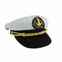 Typisch Hollands Kapitänskindermütze weiß