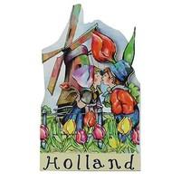 Typisch Hollands Magnet Holland - Mill - Farmer couple