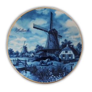 Typisch Hollands Holland plate 15 cm in luxury gift box