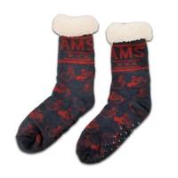 Holland sokken Fleece Comfort Socken - Radsport - Blau-Rot