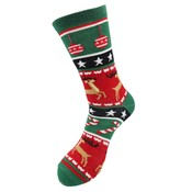 Robin Ruth Foute Kerst-sokken (dames ) Rendieren