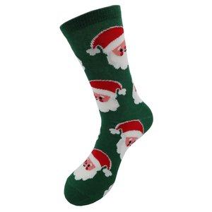 Robin Ruth Bad Christmas socks (men) Green - Happy Santa