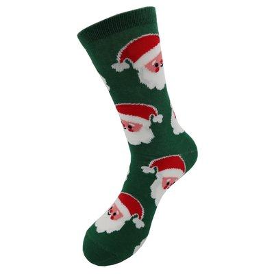 Holland sokken Schlechte Weihnachtssocken (Männer) Grün - Happy Santa