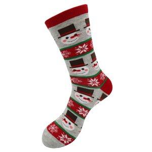 Holland sokken Bad Christmas socks (men) Gray - Frosty