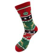 Robin Ruth Foute Kerst-sokken (heren) - Rendieren
