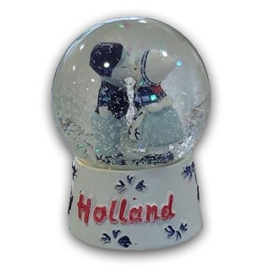Typisch Hollands Schneekugel Holland - Paar.