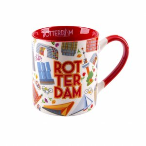 Typisch Hollands Beker Rotterdam 'Highlights' in giftbox