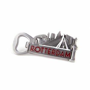 Typisch Hollands Opener magneet Rotterdam tinkleur
