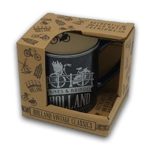 Typisch Hollands Large mug with luxury relief coating