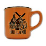Typisch Hollands Kleine mok in geschenkdoos - Holland- Oranje