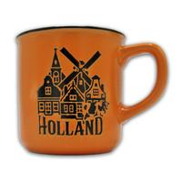 Typisch Hollands Small mug in gift box - Holland Orange