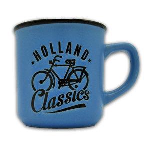 Typisch Hollands Kleine mok in geschenkdoos - Holland- Blauw