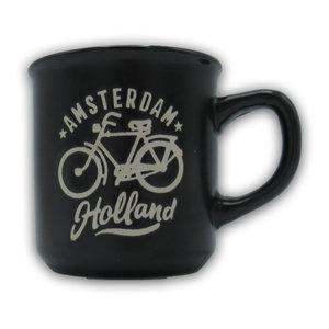 Typisch Hollands Small mug in gift box - Holland Black