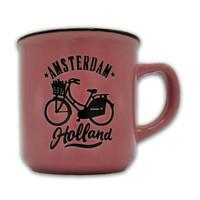 Typisch Hollands Kleine Tasse in Geschenkbox - Holland - Pink