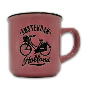 Typisch Hollands Kleine mok in geschenkdoos - Holland - Roze