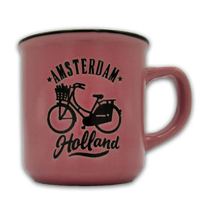 Typisch Hollands Kleine Tasse in Geschenkbox - Holland - Pink