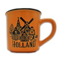 Typisch Hollands Große Tasse in Geschenkbox - Holland Orange