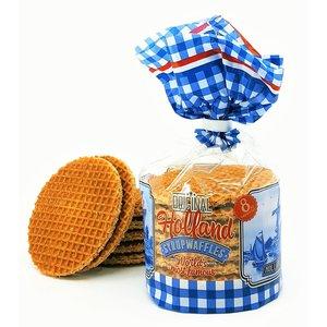 Stroopwafels (Typisch Hollands) Stroopwafels in old Dutch packaging.