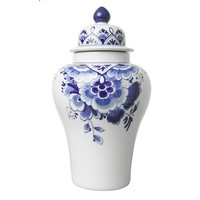 Delft blue Lid-Pul (vase with lid)