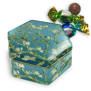 Typisch Hollands Can of Almond Blossom - van Gogh with chocolate