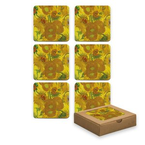 Typisch Hollands Onderzetters - Zonnebloemen