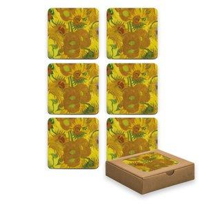 Typisch Hollands Untersetzer - Sonnenblumen