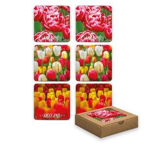 Typisch Hollands Coasters - Tulips - Spring