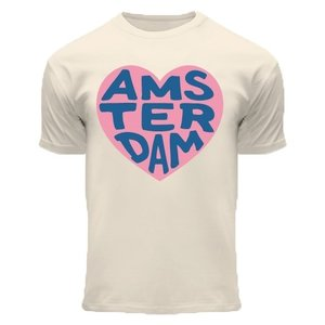Holland fashion Children's T-Shirt - off-white Amsterdam