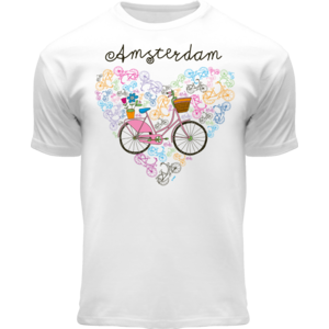 FOX Originals Kinder T-Shirt - Amsterdam - Fahrrad