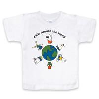 Nijntje (c) T-Shirt Miffy - Around the world