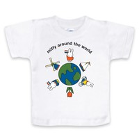 Nijntje (c) T-Shirt Nijntje - Around the world