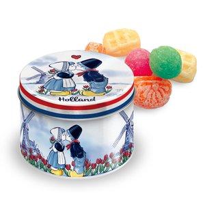 Typisch Hollands Candy tin - Kupsaar Filled with old Dutch candy mix